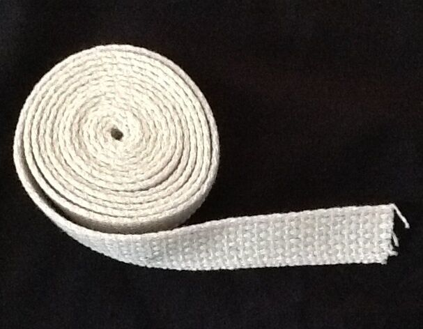 "Cotton 3/4"" Flat Wick 5' Roll Made in the USA"