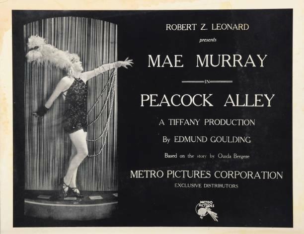 OLD MOVIE PHOTO Peacock Alley Lobby Card Mae Murray 1922