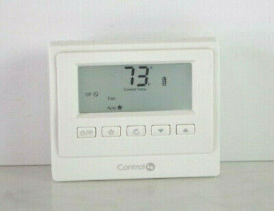 Control4 CCZ-T1-W (White) Thermostat In Excellent Condition C10 segunda mano  Embacar hacia Argentina