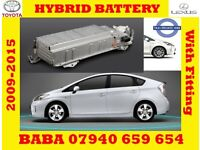 TOYOTA PRIUS HYBRID BATTERY for 1.8 engine YEAR 2009-2015 models BRAND NEW SUPPLIED WITH FITTING