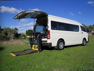 2007 Toyota Hiace Van/Minivan Hunters Hill Hunters Hill Area Preview