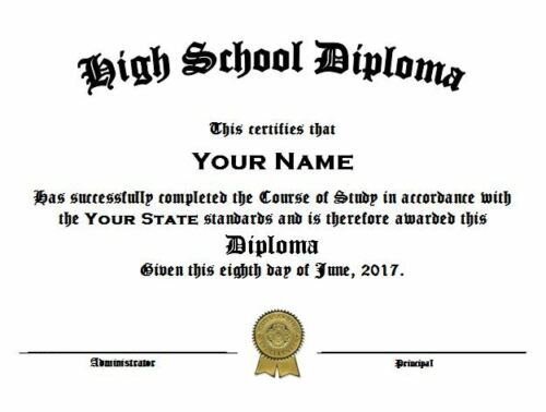 Legal and Valid HOME SCHOOL High School DIPLOMA pdf within 24 hrs