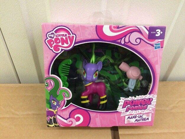 My+Little+Pony+Power+Ponies+Mane-Iac+Mayhem+Figure+Hasbro+3%2B+New+Genuine+