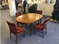 G Plan Mid Century table & chairs