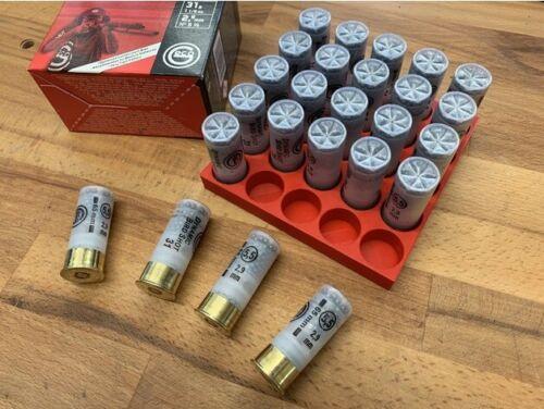 12 GA Shot Shell Reloading Block 25 Shot Durable High Strength Plastic