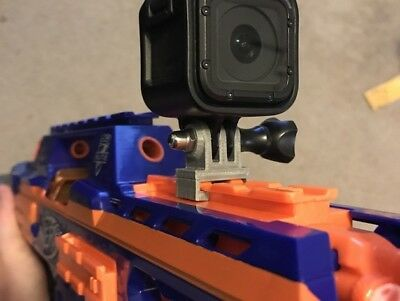 Go Pro Nerf Gun Mount Adapter GoPro Hero 3 3+ 4 5...