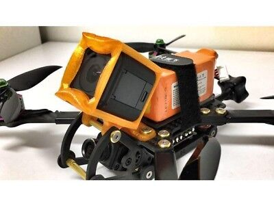 Ummagawd Remix Gopro Session Mount ROTOR RIOT Fpv Drone Tpu Fpv Case 3D USA RC