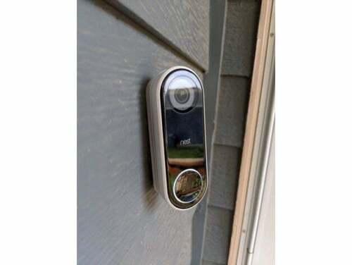 Nest Hello Doorbell Angle Wedge Mount Kit 30 or 45 degree Black or White