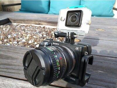 Go Pro Hot Shoe Mount Adapter GoPro Hero 3 3+ 4 5...