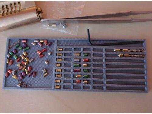 Lock picking pinning matt