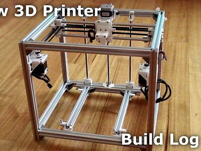 HyperCube 3D printer t-slot frame kit - PD-tech 2020 20mm extrusion metal only