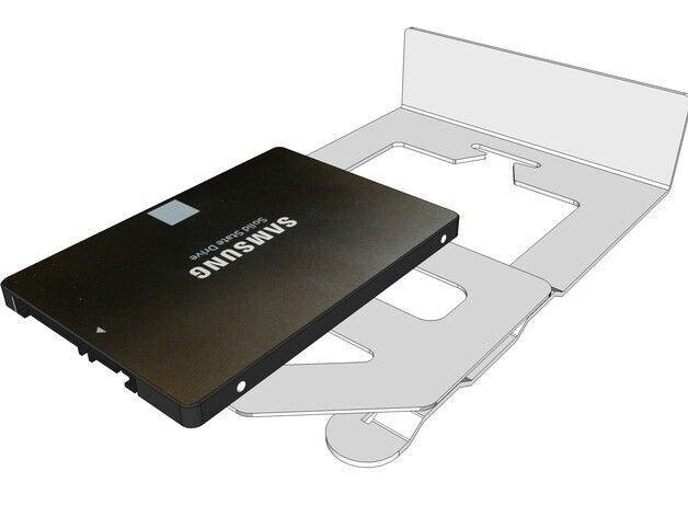 Generic 2nd Ssd HDD Hard Drive Caddy for Apple Mac Mc238ll//a Macmini3,1 A1283