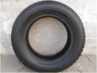 Two unmounted Avlanche winter tires P195/65-15