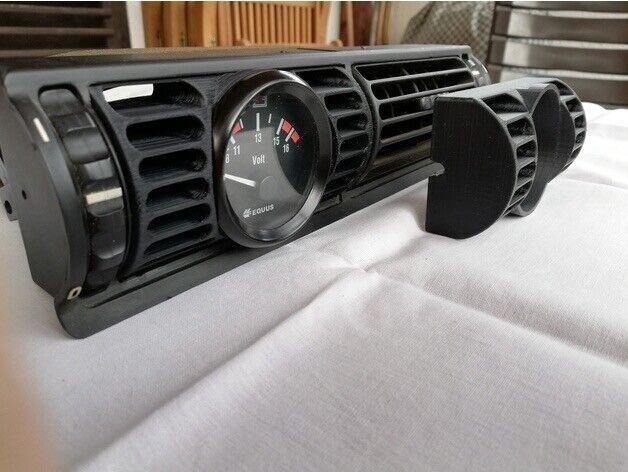 BMW E30 Gauge Pod 52mm Replace Side Vent BMW e30 1982-1994