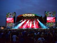 Lovebox Saturday Tickets Pair - In Hand - WILL POST SATURDAY PRE 9AM DELIVERY London Victoria park