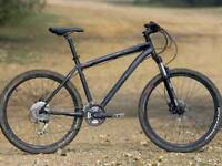 MENS, SPECIALIZED ROCKHOPPER WITH HYDRAULIC BRAKES/LOCKOUT FORKS, SIZE MEDIUM, 19 INCH RRP £700