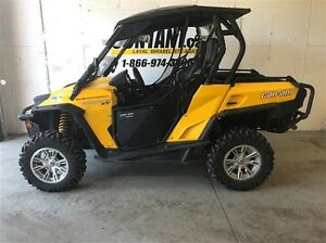 2012 Can-Am Commander xt 1000r