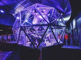 Crystal Maze tickets x2, Wed 18 Jan 2017, 9pm