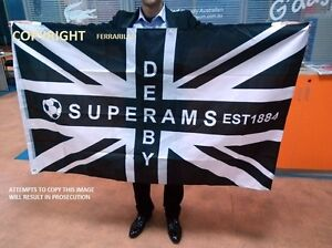 DERBY COUNTY SUPERAMS FLAG