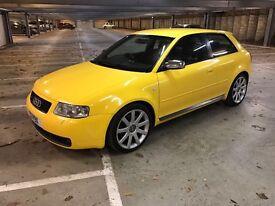 Audi S3 Quattro, 3 door rare imola yellow may PX or swap