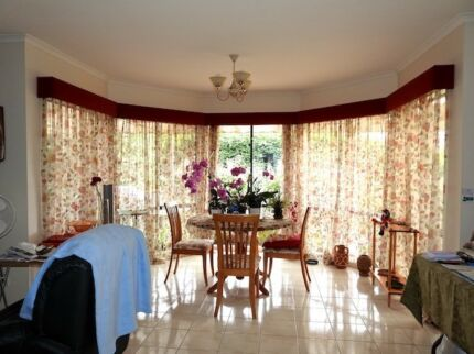 Curtains for TV and Dining Room