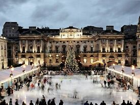 Somerset House, ICE SKATING x 2 Adults, 13:45 Session, Sunday 18 December 2016