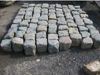 "GRANITE cobbles 800 no 5"" by 5"""