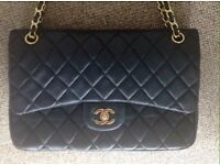 Gorgeous genuine leather Chanel Classic Flap
