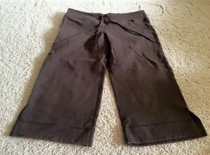 Lululemon Cotton Crops - size 6