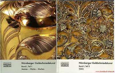 Fachbuch Nürnberger Goldschmiedekunst 1541-1868 2 Bände wichtigstes Werk NEU