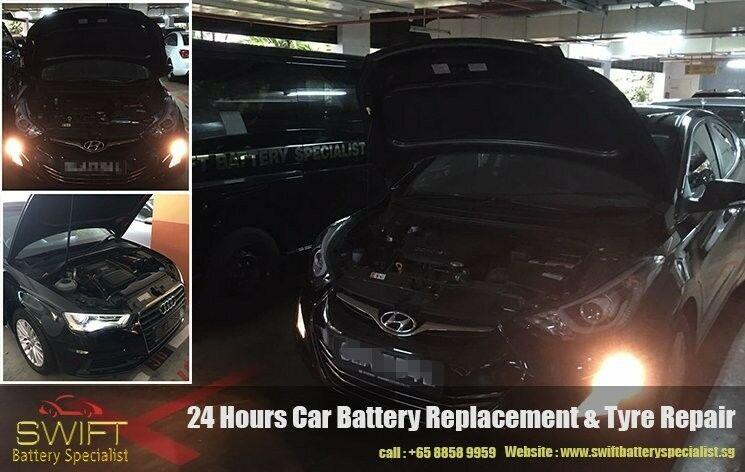 24/7 Professional Car Battery Replacement Service in Singapore