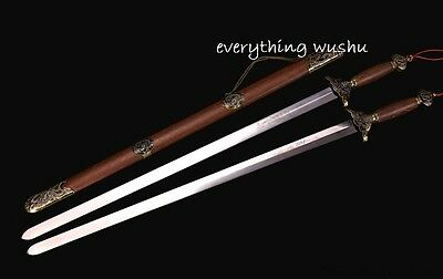 29e6f92f0 Authentic Long Quan Swords tai chi double sword wushu swords martial arts  sword
