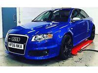 Audi rs4 low miles