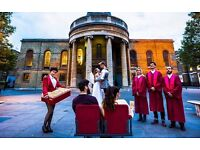 Ticket for Baz Luhrmann's Romeo & Juliet in a church with a live choir (today 4pm)