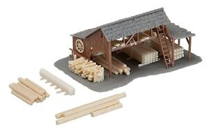 NEW ! N scale Faller OLD TIME LUMBER YARD : Building KIT # 272530
