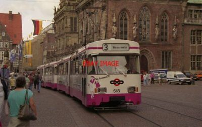 PHOTO  GERMANY BREMEN 1991 TRAM STADTMITTE 518