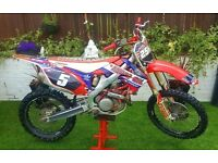 2012 HONDA CRF 450 EFI TRICKED EX RACE BIKE , SWAP FARM QUAD KVF KFX GRIZZLY TRX