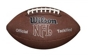 Wilson F1415 NFL MVP Football, Official Size, New, Free Shipping