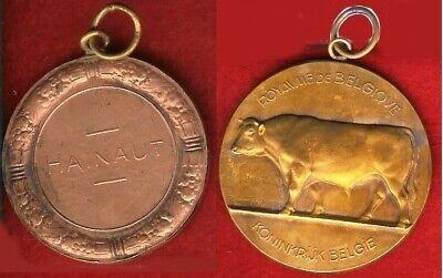 BELGIQUE Médaille concours agricole Hainaut par Raymond de Meester