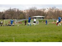 11-a-side football team welcoming new players