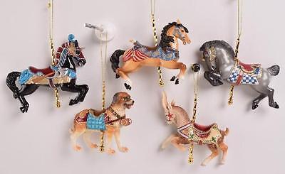 2016 Kurt Adler Carousel Ornaments