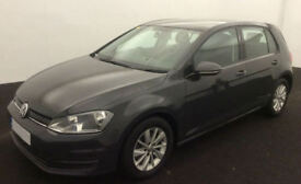 VOLKSWAGEN GOLF 1.4 TSI MATCH SE 1.6 1.9 2.0 TDI SPORT GTD GTI FROM £45 PE WEEK
