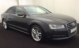 Audi A8 Sport Executive FROM £124 PER WEEK!