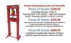 Presse Hydraulique à Bouteille (12 Tonnes, 20 Tonnes, 30 Tonnes) 189.99 et +