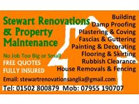 stewart renovations and property maintenance