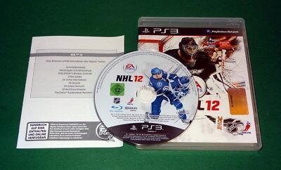 NHL 12 Eishockey Sportspiel mit OVP fuer Playstation 3 PS3