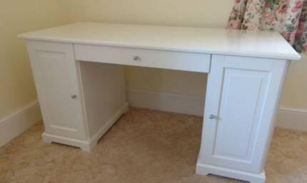 Large white desk