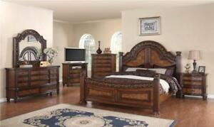 TRADITIONAL STYLE BEDROOM SET ON SALE- ONLINE SALE FURNITURE SALE FREE SHIPPING | CALL -905-451-8999 (ME18))