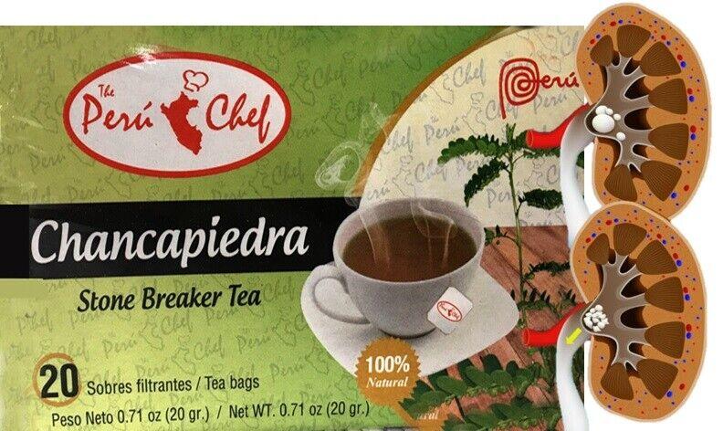 Chanca Piedra Hierba Te (Stone Braker Herbs Tea) 3 Bags 3