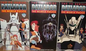 VHS Tapes - Patlabor: The TV Series